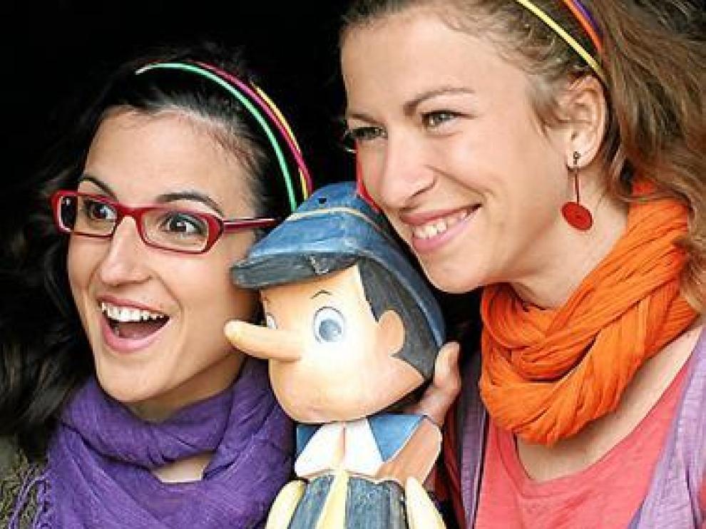 Ana Quílez Ibáñez (Lerenda) y Beatriz Oseira Abril (Menda).