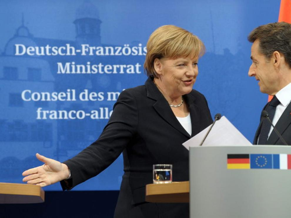 Acto de unión franco-alemana.