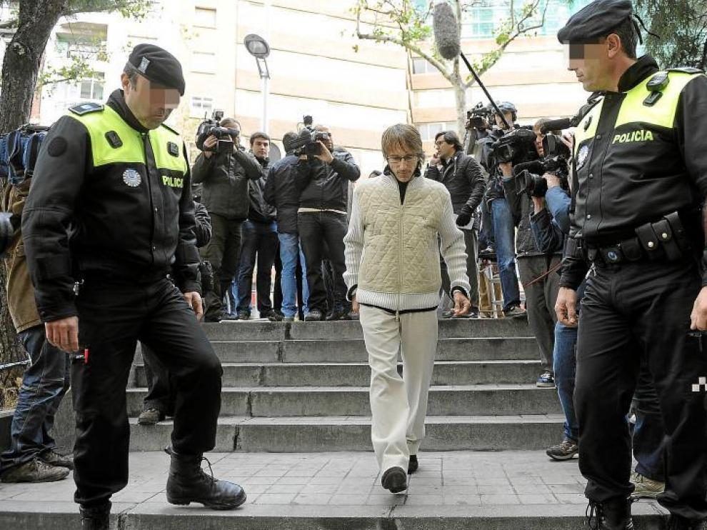 Alberto García acude a declarar a los juzgados de Madrid.