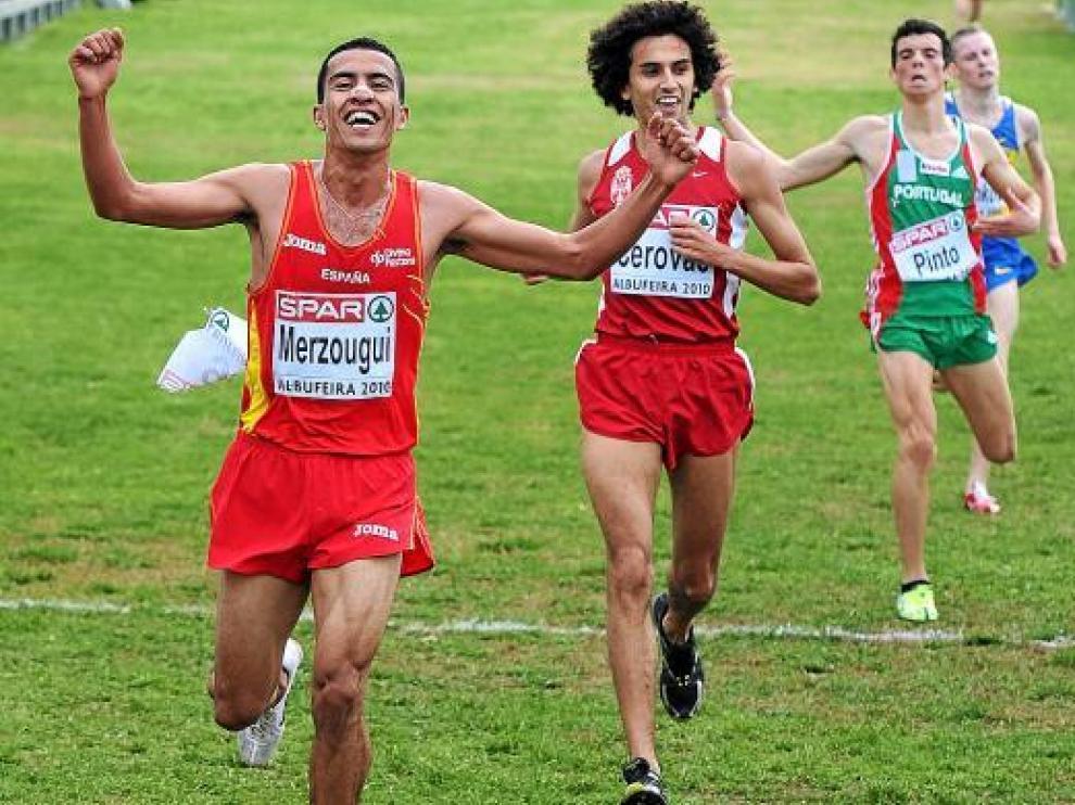 Abdelaziz Merzougui consiguió la medalla de oro en la categoría júnior.