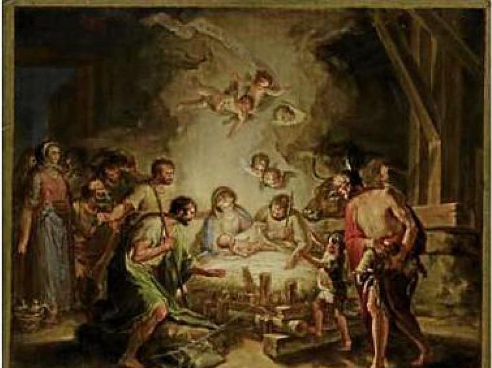 Venden dos bocetos de Bayeu en casi medio millón de euros