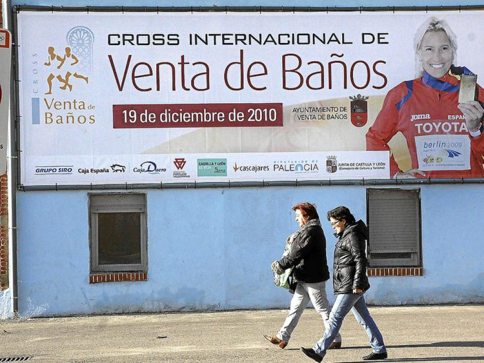 Marta Domínguez es la imagen promocional del cross que se correrá en Venta de Baños en una semana
