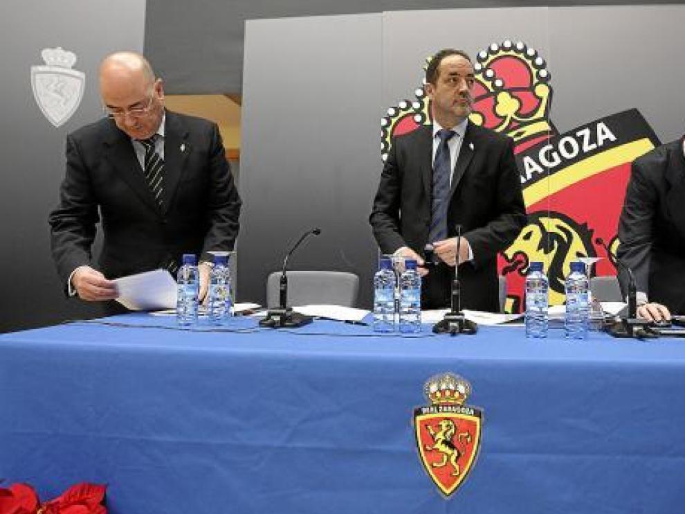 Paco Checa, Agapito Iglesias y Javier Porquera.