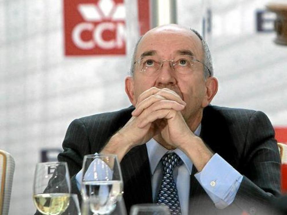 Fernández Ordóñez, ayer en la convención anual de la Asociación de Mercados Financieros.