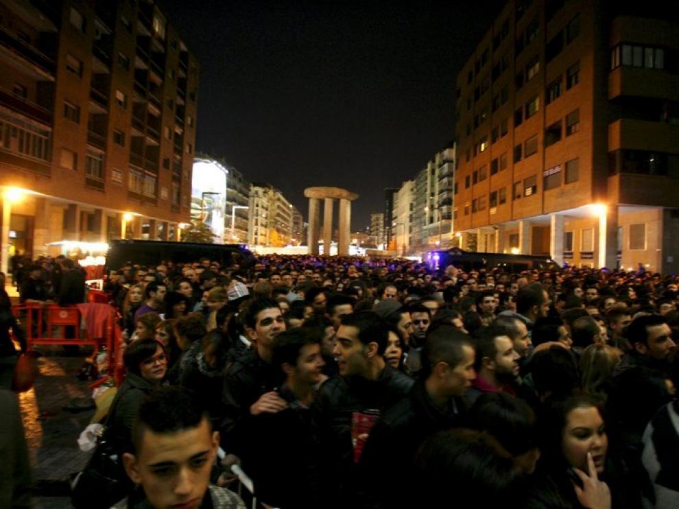 Miles de personas se dieron cita para ver el espectáculo de Lady Gaga en Madrid
