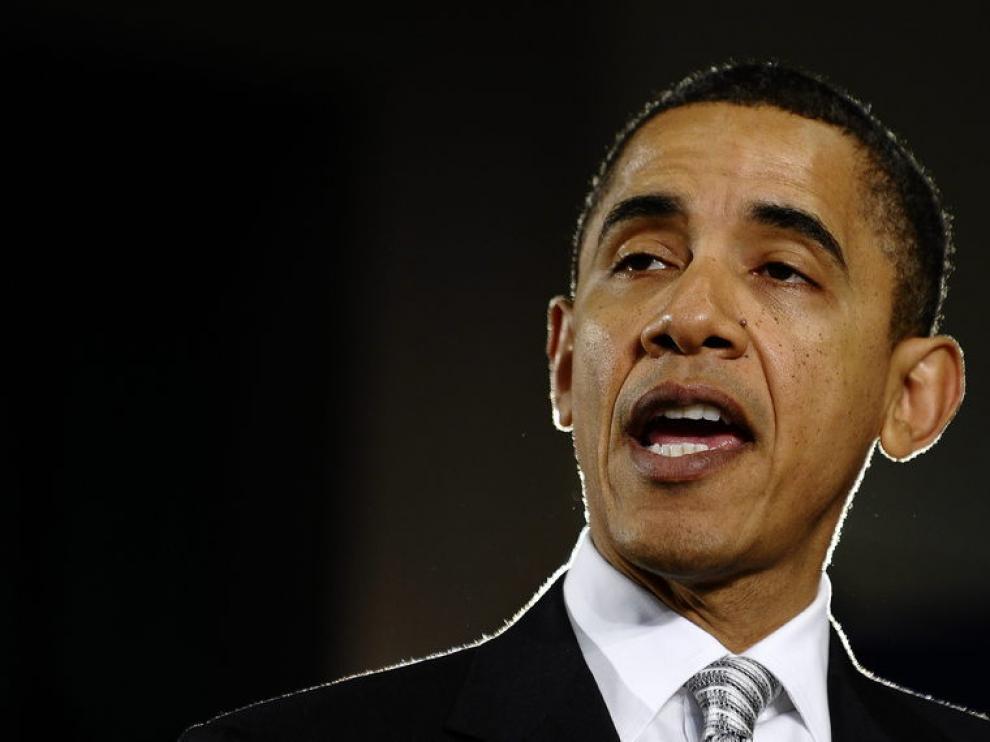 El presidente de EE. UU., Barck Obama