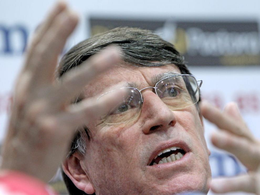 El presidente de la Federación Española de Atletismo.