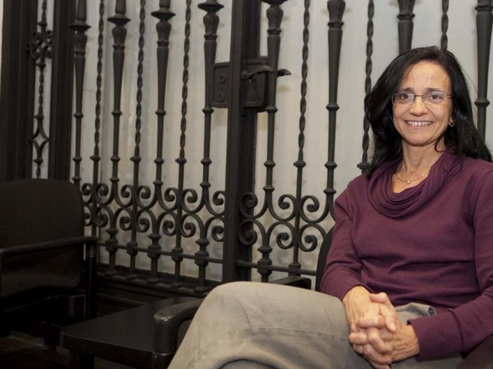 Begoña Arán, coordinadora del Banco de Líneas Celulares del Centro de Medicina Regenerativa de Barcelona
