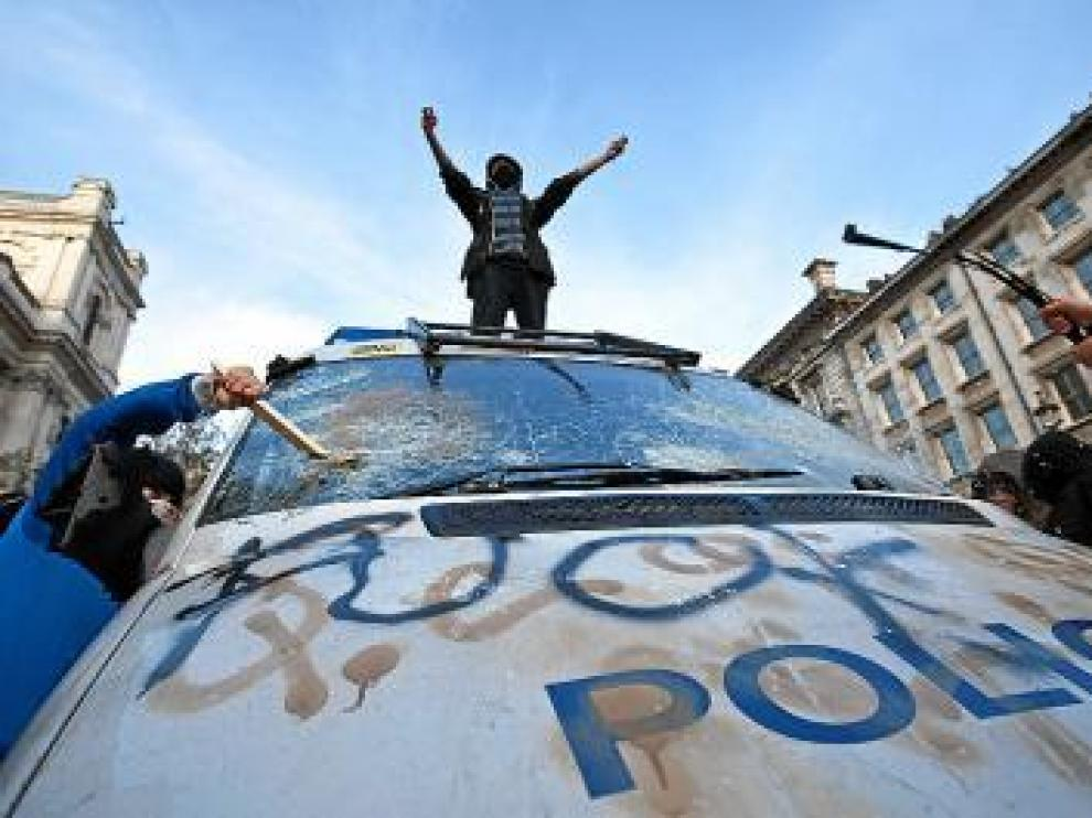 Protestas en Reino Unido