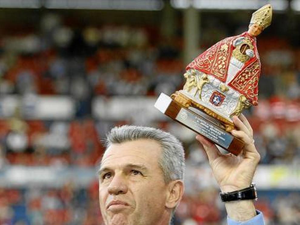 Aguirre levanta un San Fermín tras clasificar a Osasuna para 'Champions'.