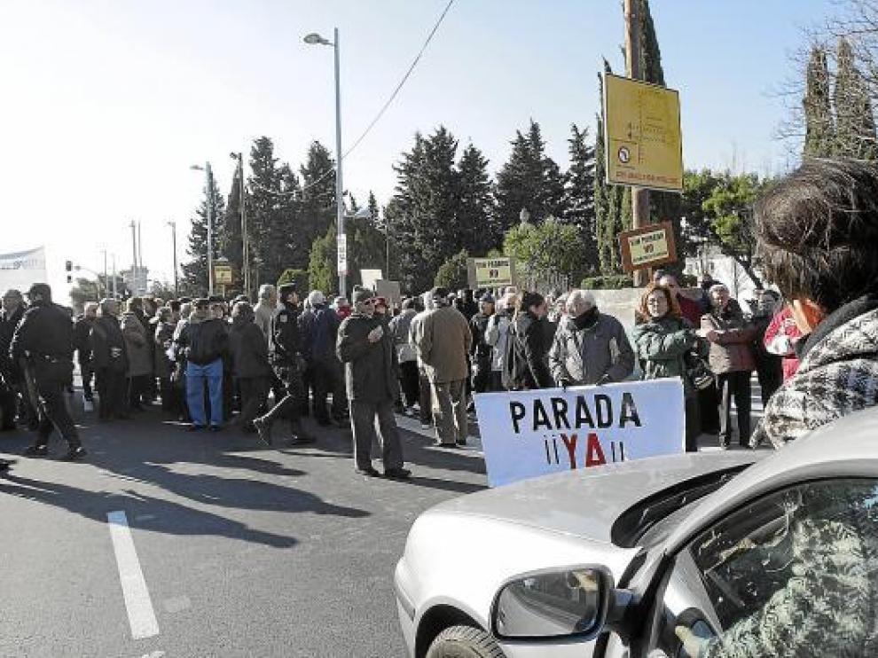 Al impedir la circulación, se vivieron momentos de tensión entre manifestantes y conductores.