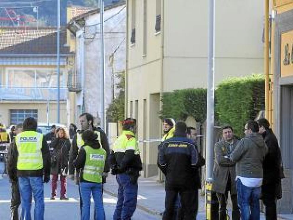 Un parado mata a cuatro personas en Olot