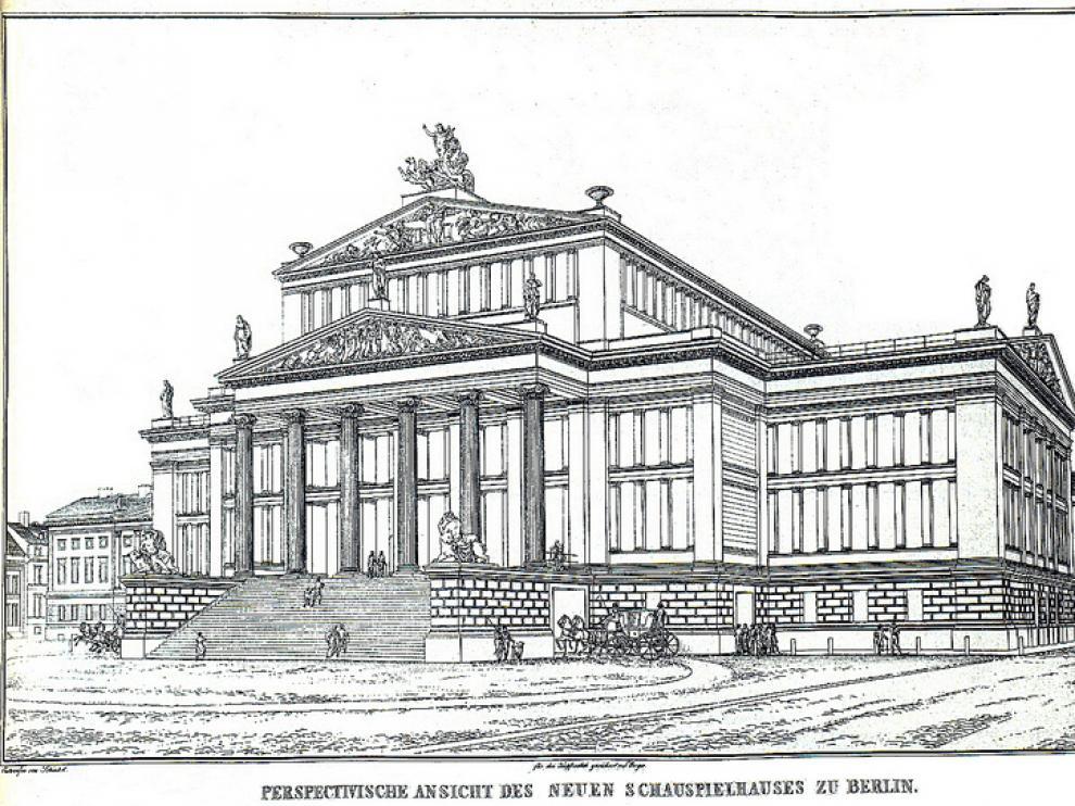 K. F. Schinkel: una visión del Nuevo Teatro de Berlín.
