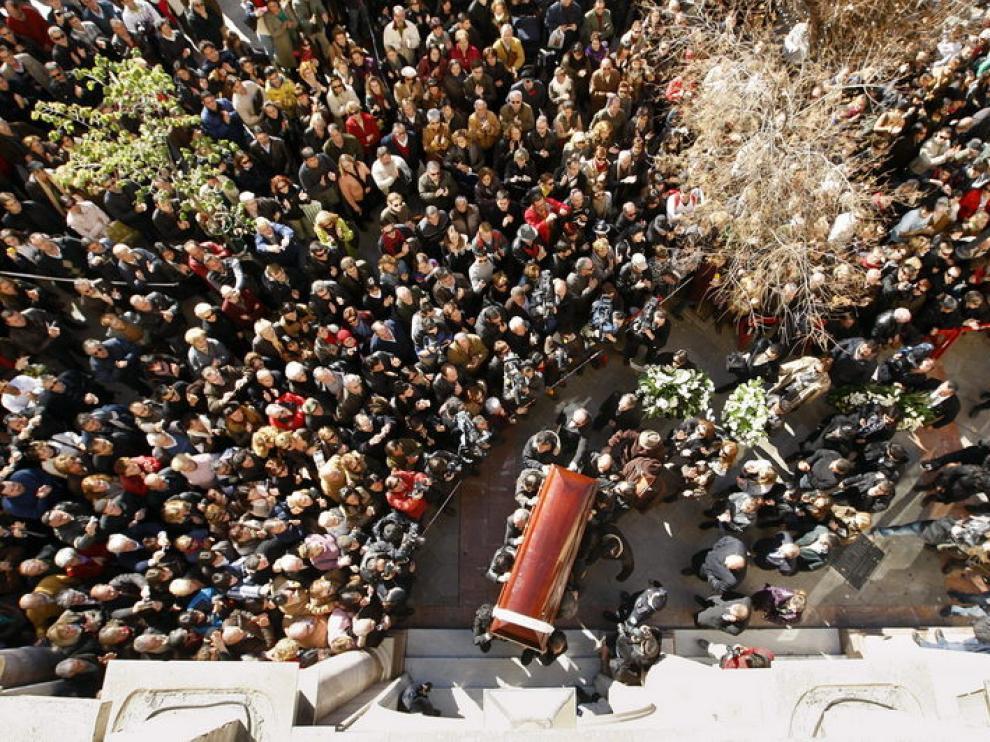 Miles de personas se han acercado estos últimos días a despedir a Morente