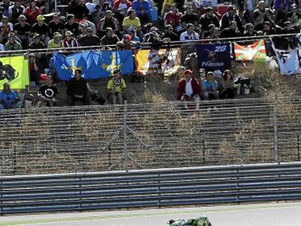 Imagen del pasado Gran Premio de Aragón.