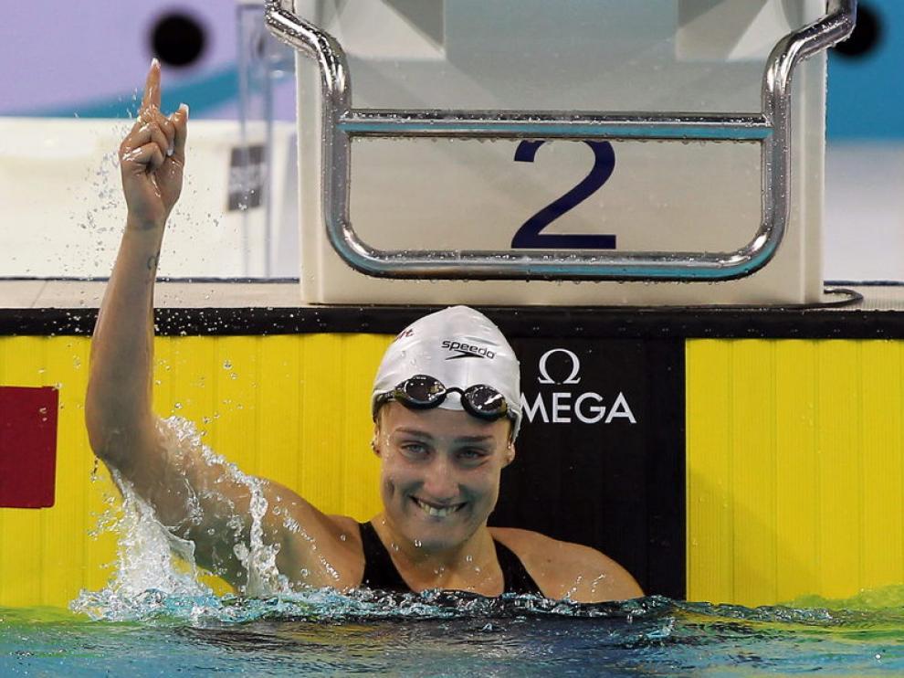 Belmonte, que logró dos oros el primer día, ha conseguido la plata en 800 libres.