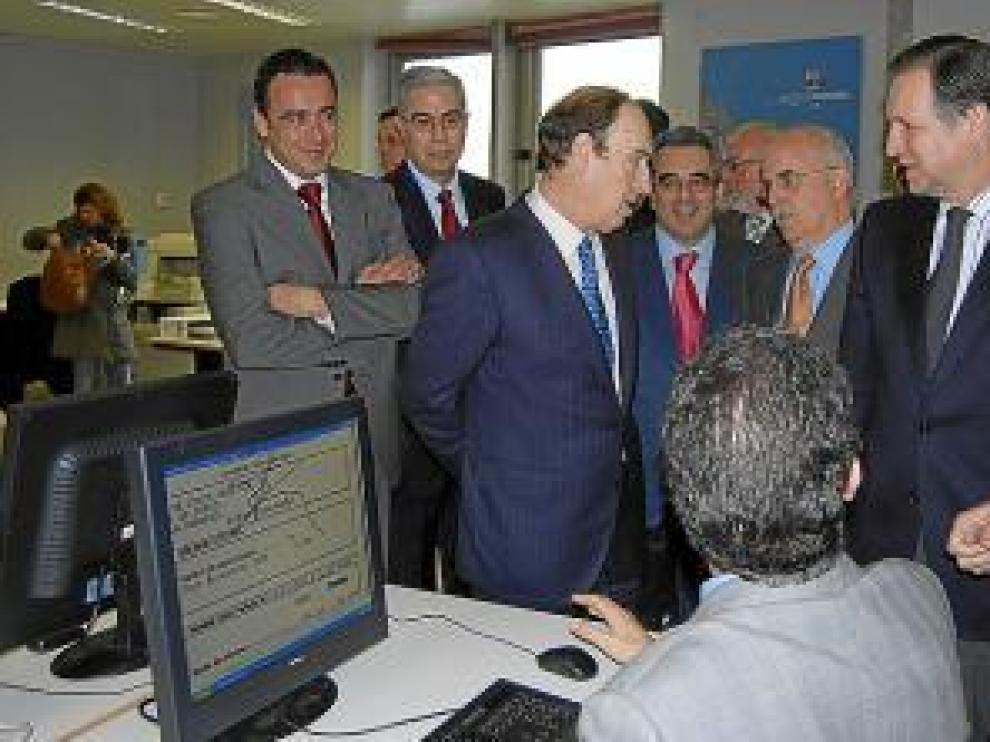 La empresa fue inaugurada por el presidente Iglesias en 2008.