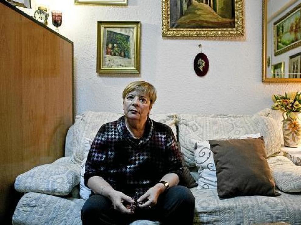 Consuelo Torres contó su experiencia en el salón de su casa.