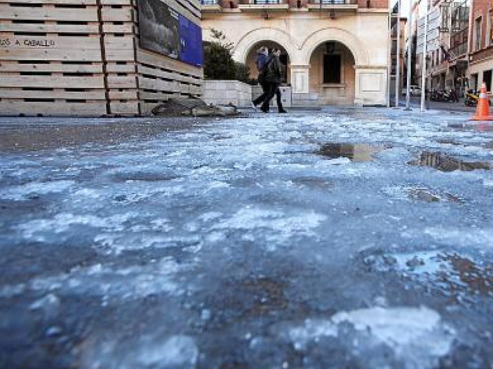 El frío se recrudece en Aragón y Teruel marca la temperatura mínima del país