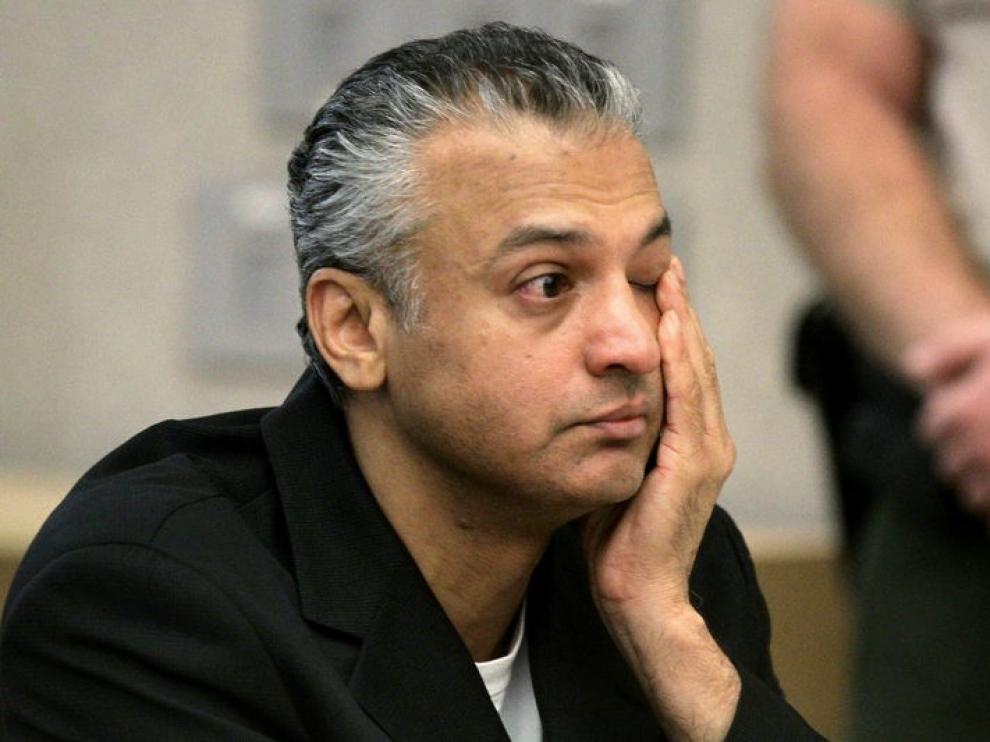 Shelley Malil durante el juicio.