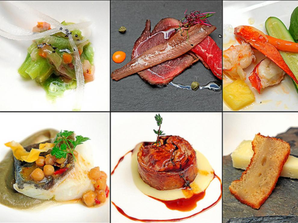 Estos son los diez pases que se incluyen en el menú de las Jornadas con Cervezas en el restaurante Aragonia Palafox.