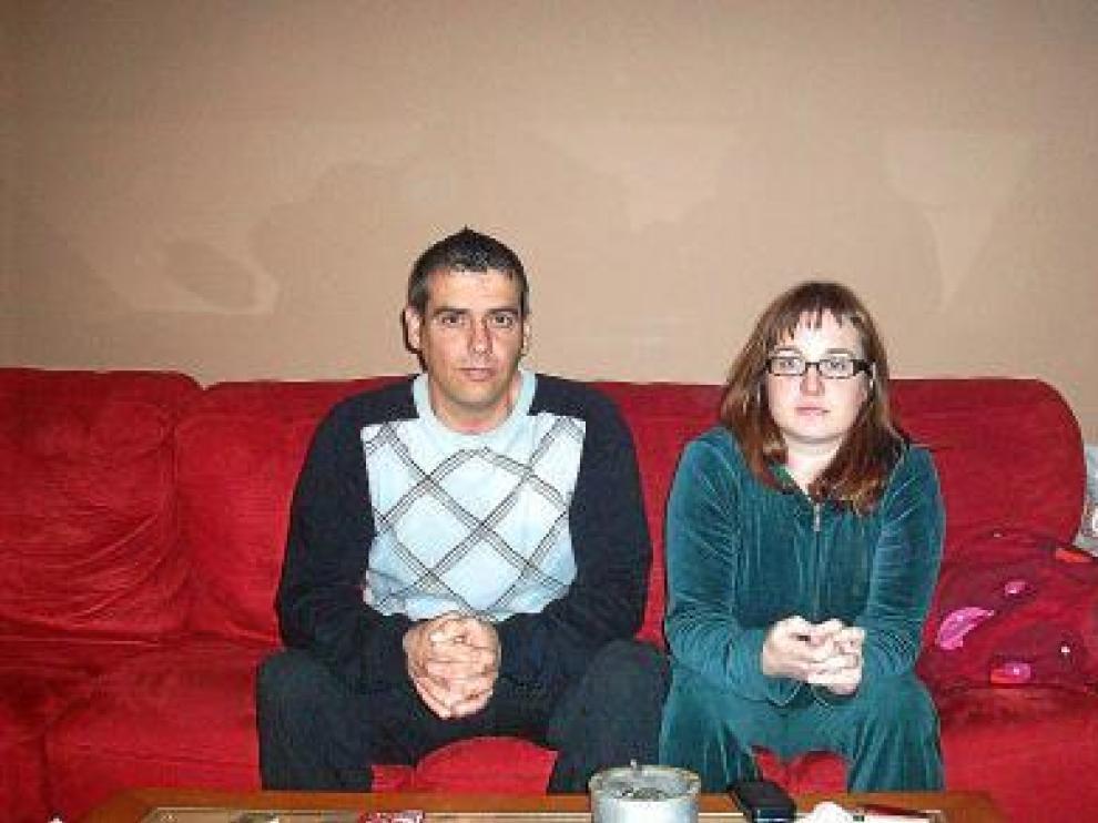 Carlos y Nati confían en que el año 2011 les traiga trabajo.