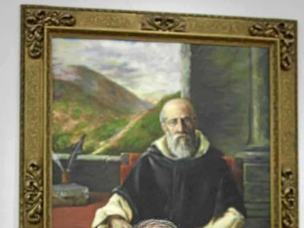 Luis Ortega, el lunes en la Facultad de Derecho de Zaragoza.