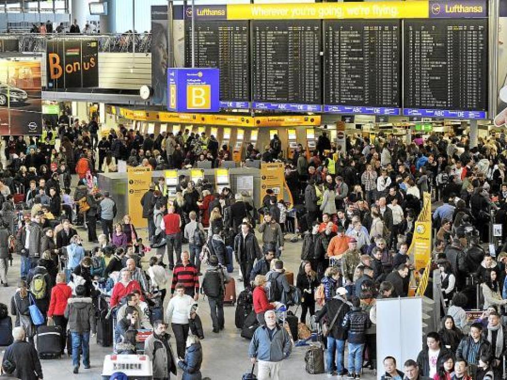 El temporal genera caos en el transporte europeo