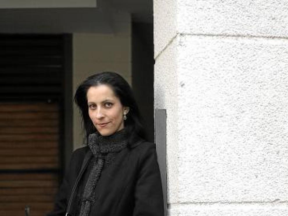 Sandra Lezcano está en paro desde febrero de 2009.
