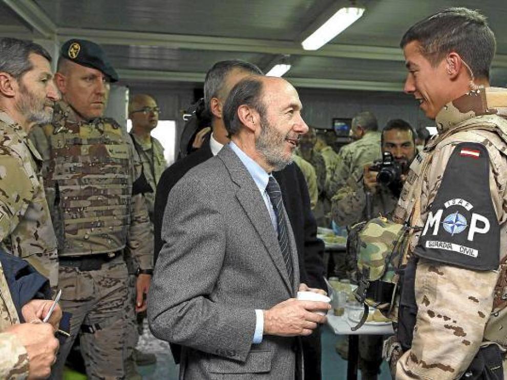 Rubalcaba ejerce de presidente en Afganistán