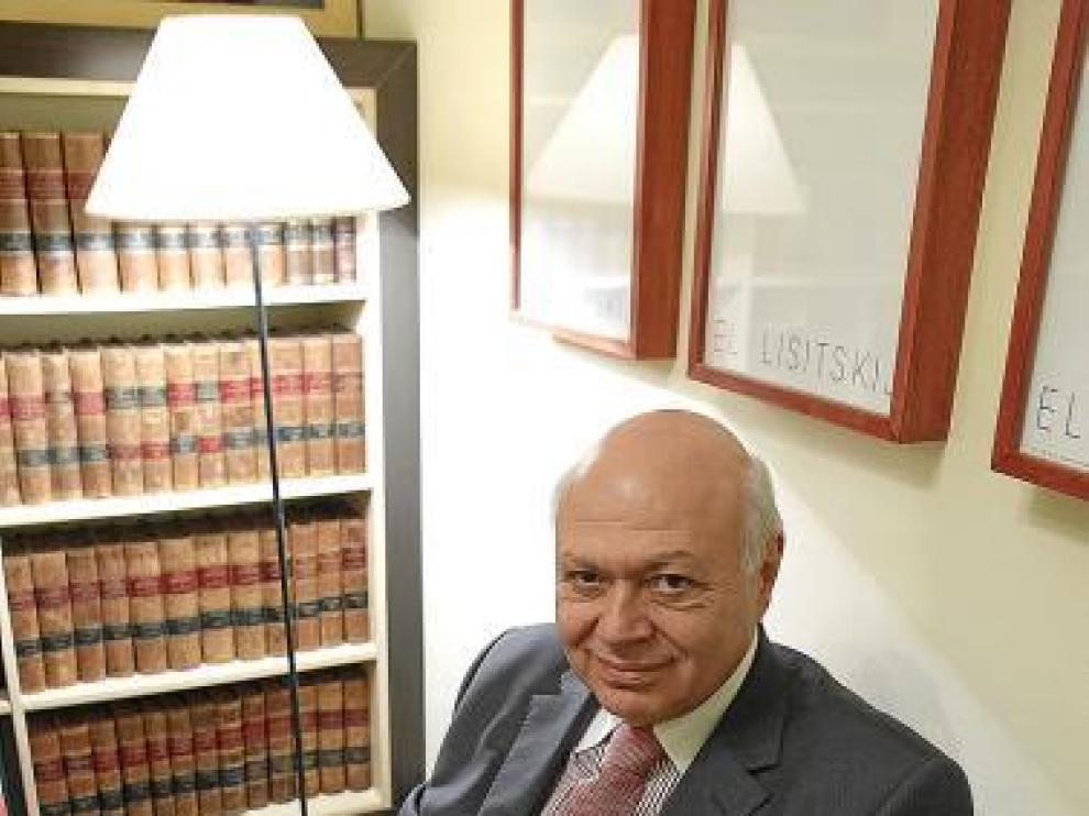El embajador de Turquía, Ender Arat, en Zaragoza.
