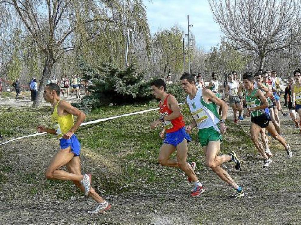 La cabeza de carrera, ayer, con El Wardi, Mariño y Sábado al frente del grupo.
