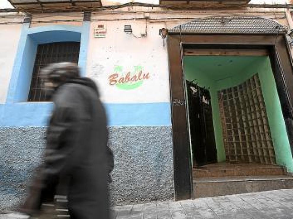 El Babalú, uno de los bares sancionados, está cerrado actualmente.