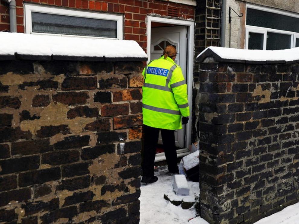 La policía realizó varias detenciones en la localidad inglesa de Stoke-on-Trent.