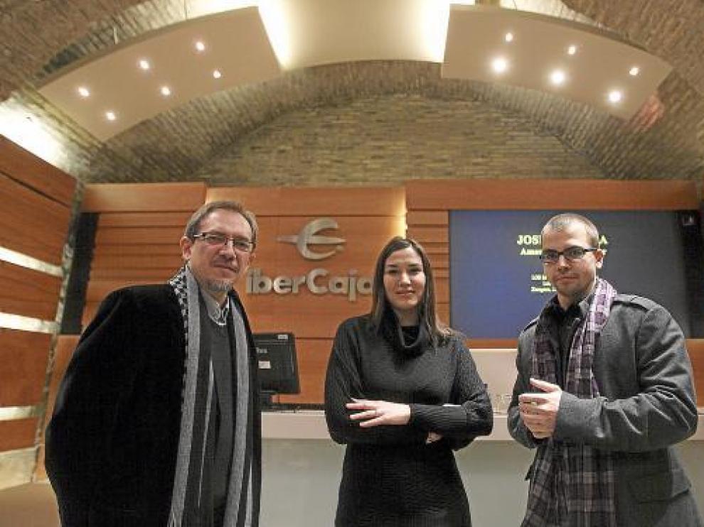 Luis Antonio González, María Eugenia Boix y Alejandro Martínez, ayer, en la presentación.