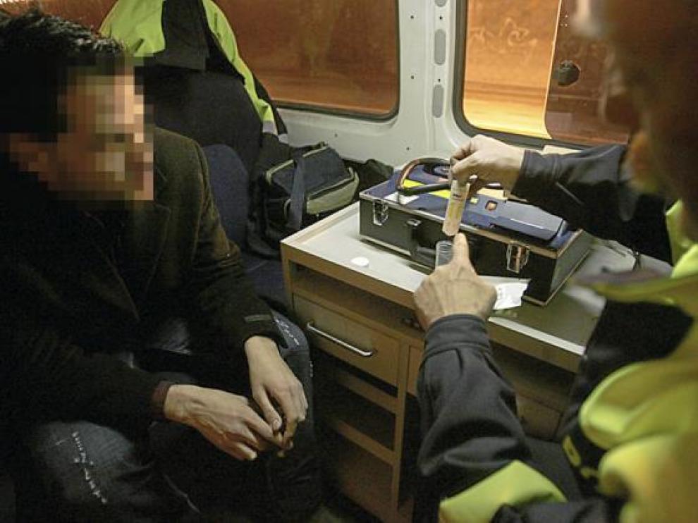 La Policía Local de Zaragoza también hace controles de drogas aleatorios cada cierto tiempo.