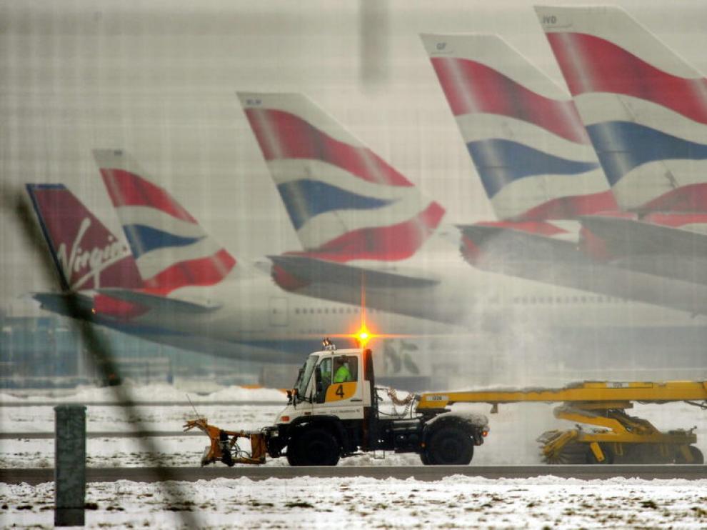 Aeropuerto de Heathrow, en Londres.