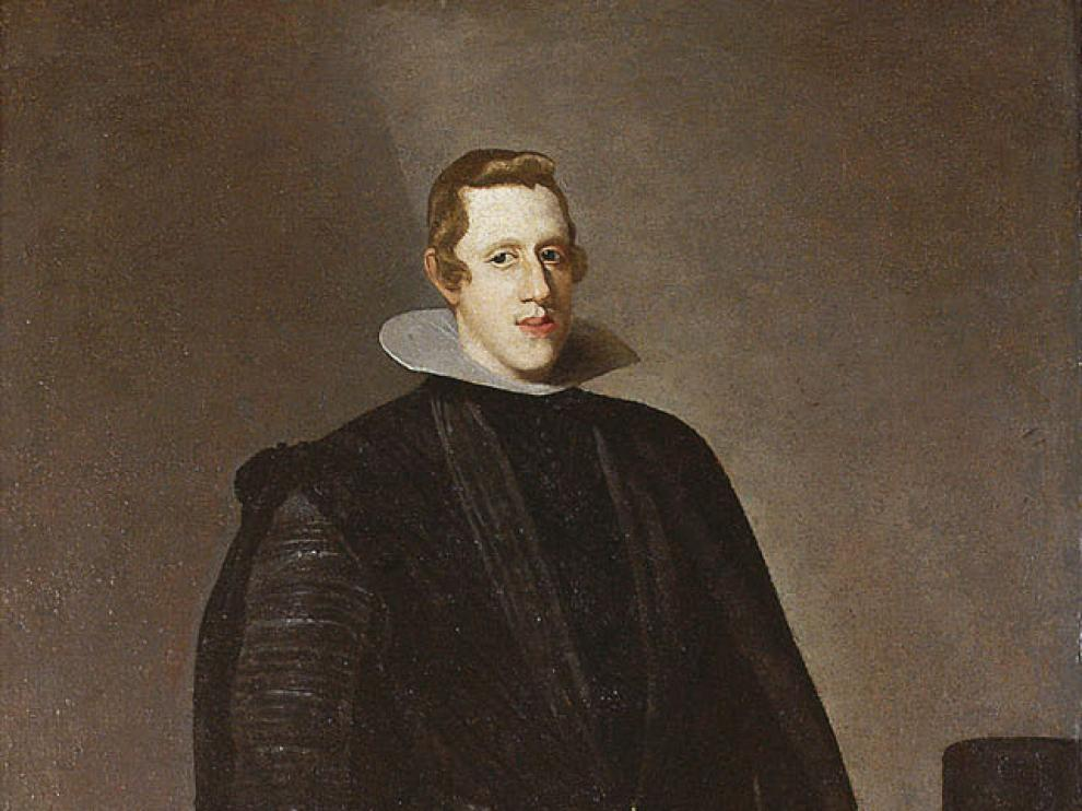 Retrato de Felipe IV, atribuído a Velázquez.