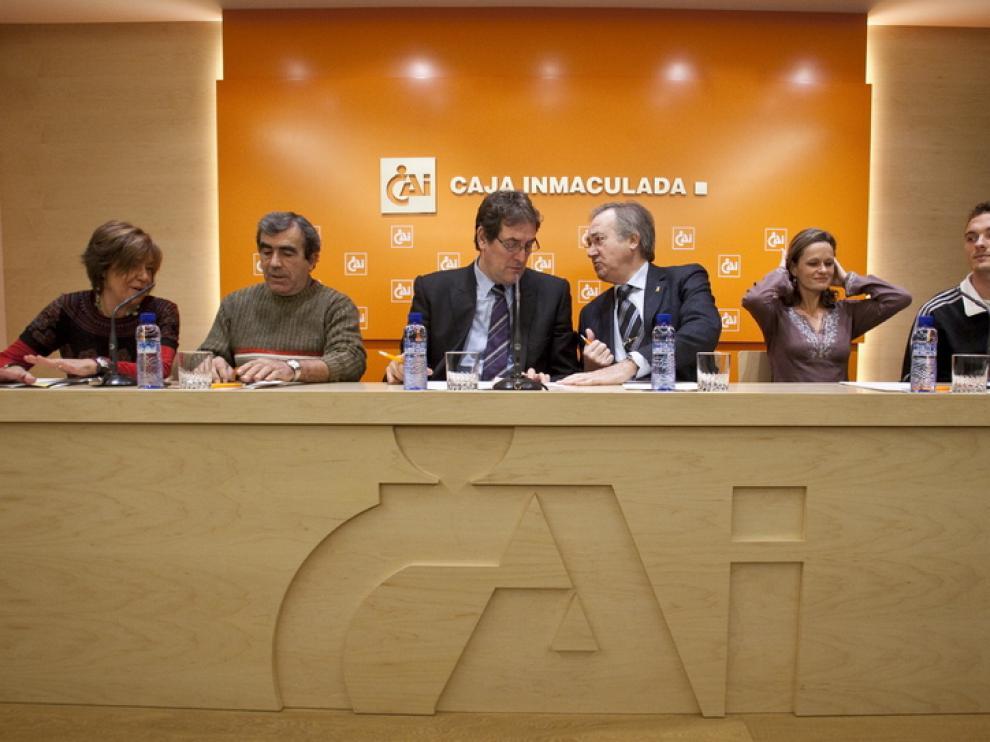 Presentación de la carrera, hoy en Zaragoza