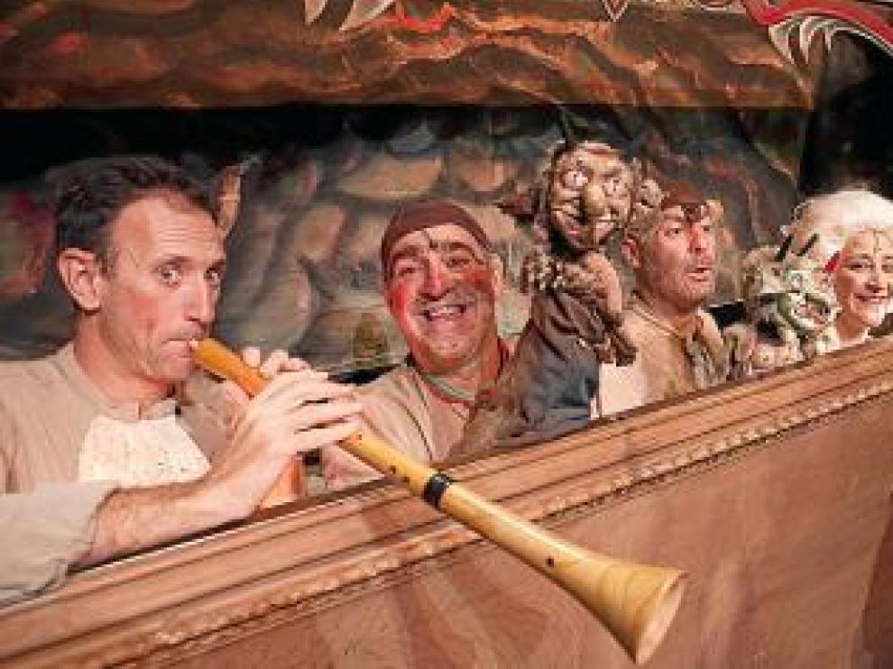Los Titiriteros de Binefar, en el Teatro del Mercado.
