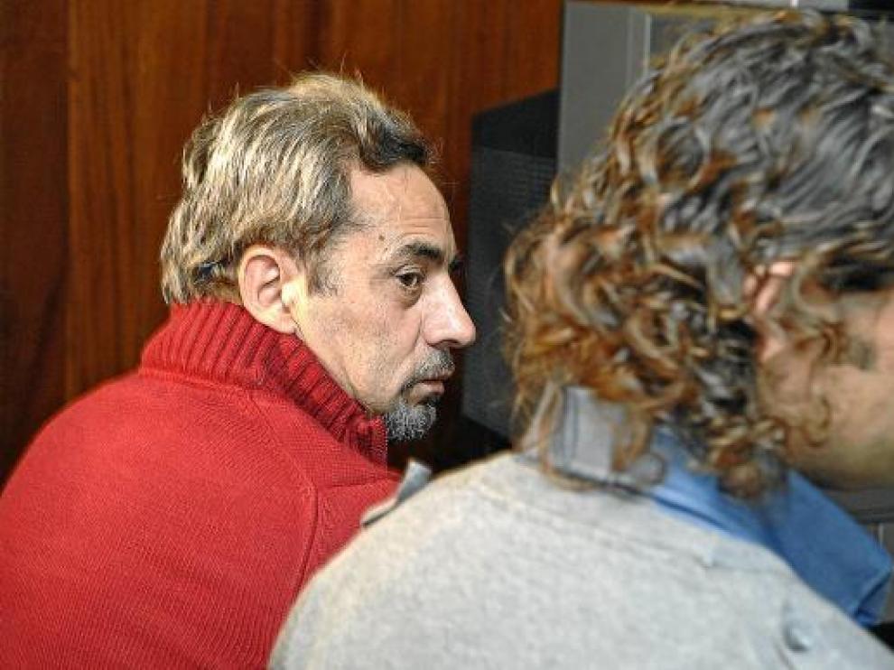 El Brujo y Alberto Cañamares, que también ha sido condenado, en noviembre en el juicio.