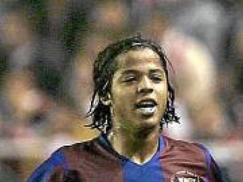 Giovani, con el Barça en 2008.