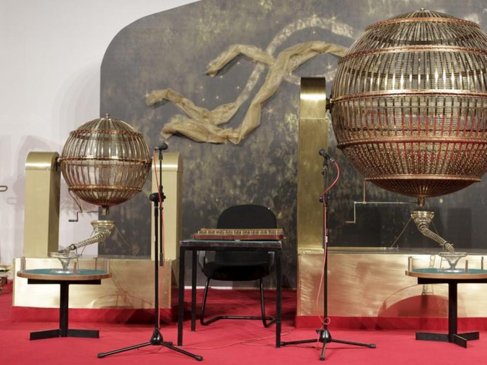 El sorteo se realiza por primera vez en el Palacio de Congresos de Madrid