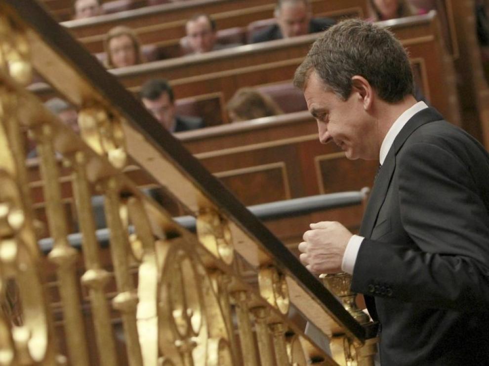 Zapatero, hoy en el Congreso