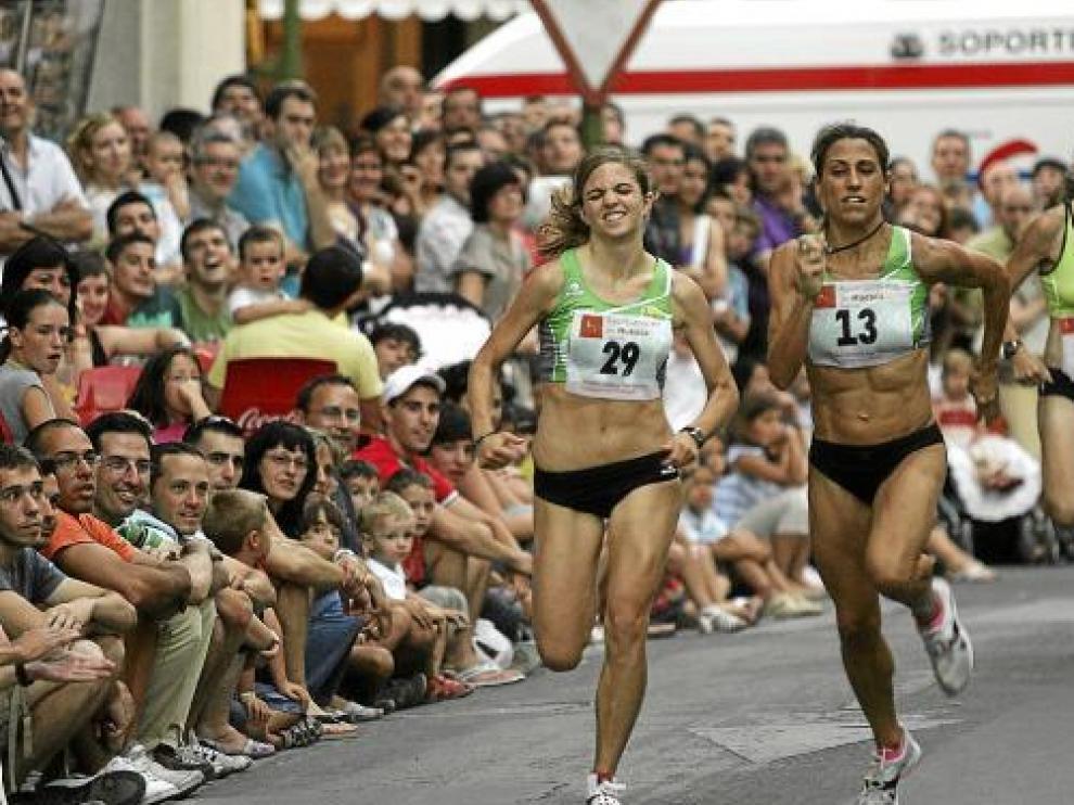 La carrera de San Lorenzo es una de las pruebas favoritas de atleta altoaragonesa (dorsal 13).