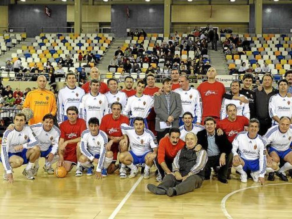 Las estrellas del Real Zaragoza y el CAI ya brillaron el año pasado en el Siglo XXI.