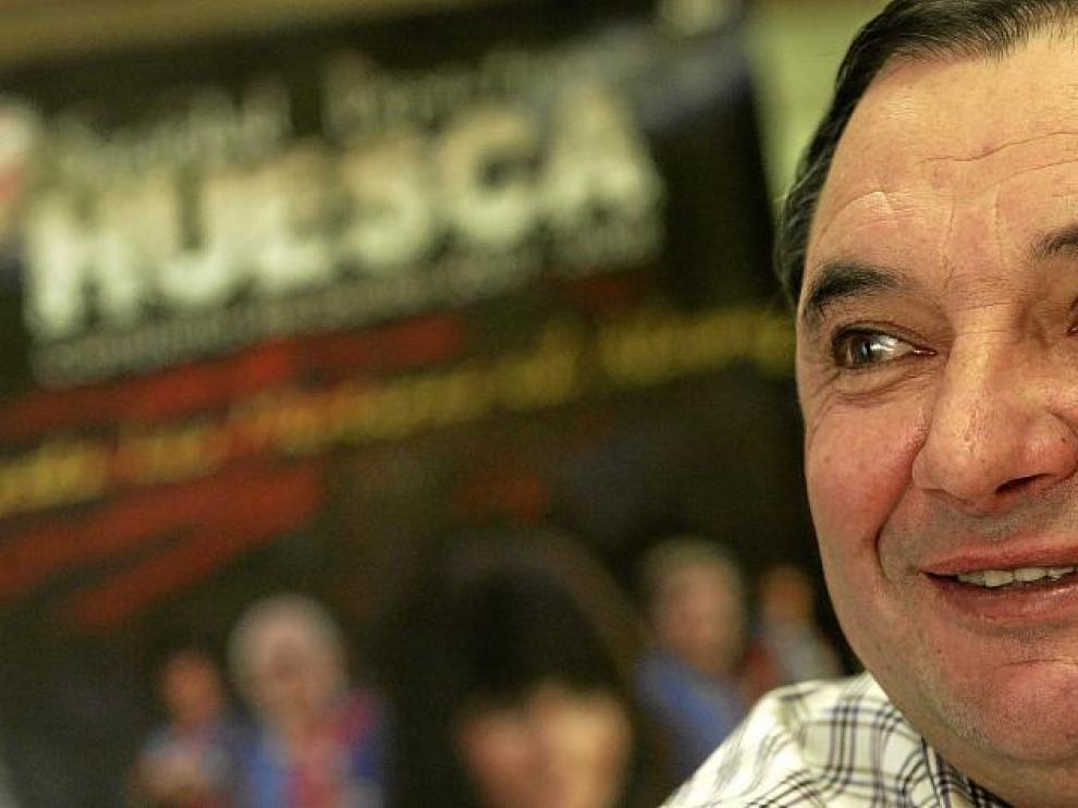 El presidente de la Fundación Huesca El Alcoraz en una imagen de archivo.