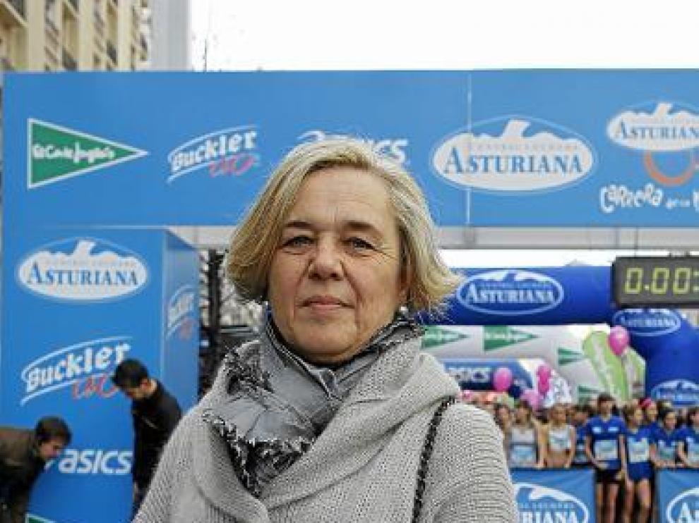 Maite Guardiola, homenajeada el pasado noviembre.