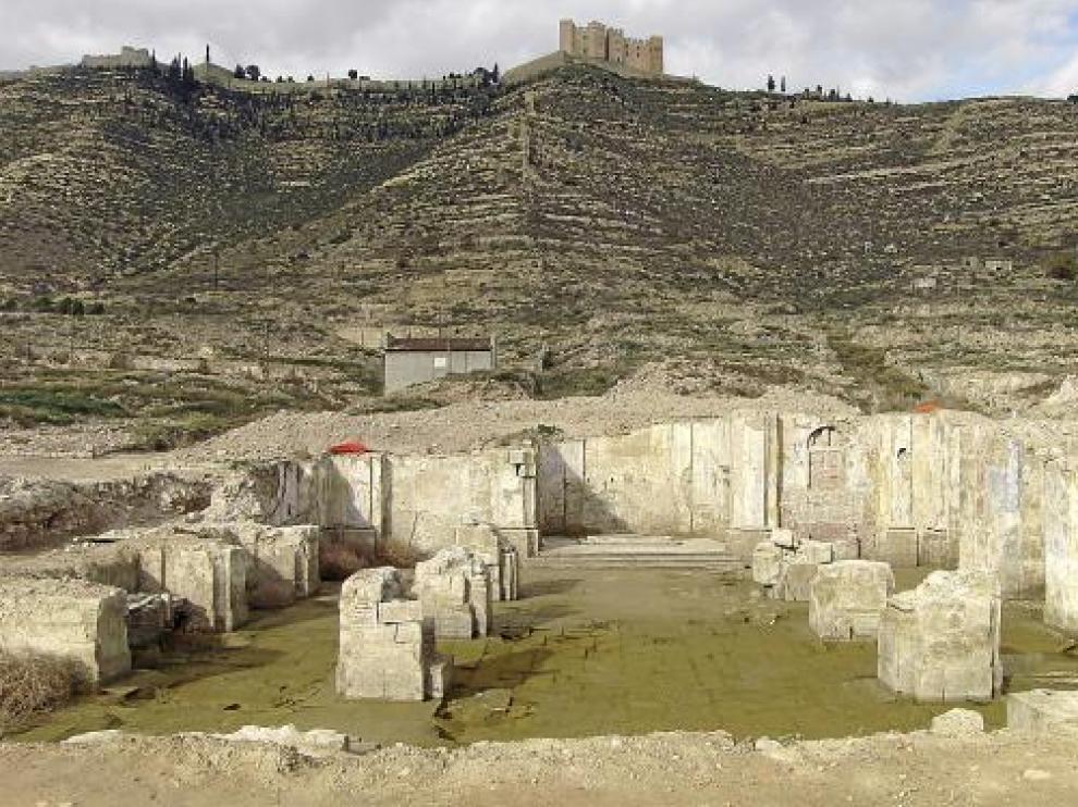 Los restos de la iglesia del Pueblo Viejo han sido recuperados y puden visitarse.