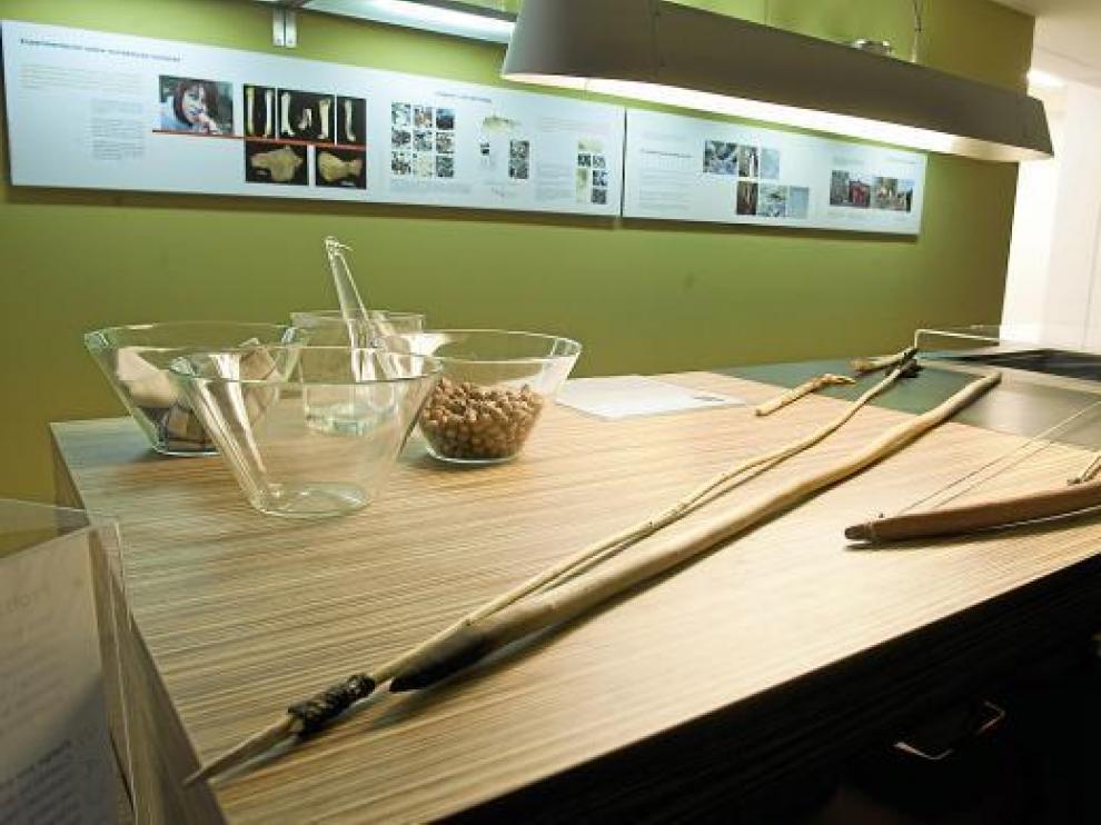 La exposición 'La dieta que nos hizo humanos' se puede ver hasta abril en el MEH de Burgos.